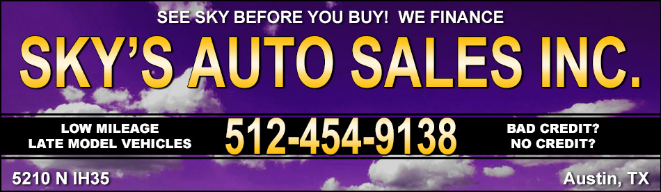 Sky Auto Sales >> Sky S Auto Sales Inc Cars For Sale In Austin Tx
